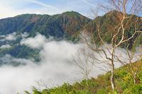 長野県 前常念岳から蝶ケ岳