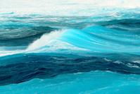 ミヤコブルーの波