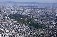 百舌古墳群と堺市街