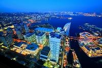 神奈川県 横浜ランドマークタワーから みなとみらい