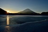 山梨県 富士山 精進湖