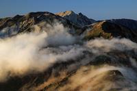 長野・富山県 北アルプス 五竜岳より白馬岳・唐松岳
