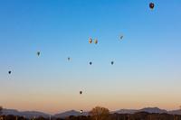 三重県 鈴鹿バルーンフェスティバルの熱気球