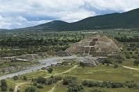 メキシコ テオティワカン 月のピラミッド