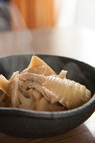 竹の子と油揚げの煮物