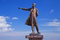 北海道 羊ヶ丘展望台とクラーク博士像