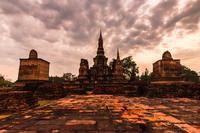 タイ スコータイ歴史公園 ワット・マハタート