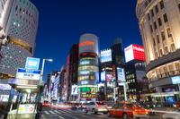 東京都 銀座四丁目 夜景