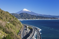 静岡県 薩た峠より富士山