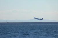 日本航空機離陸