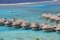 フレンチポリネシア モーレア島 トアテアの展望台
