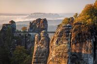 ドイツ ザクセン州 バスタイ橋