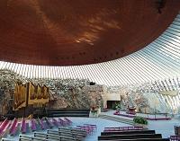 フィンランド テンペリアウキオ聖堂