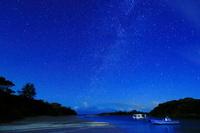 沖縄県 天の川と川平湾