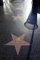 ロサンゼルス ハリウッド 路上の星型
