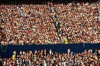 日本を応援する観客席
