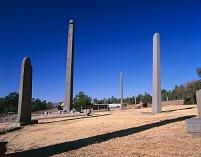 エチオピア アクスム 石碑 オベリスク