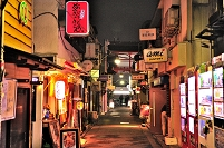 東京都 新宿ゴールデン街(G2通り)