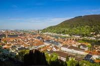 ドイツ ハイデルベルク城から旧市街