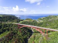鹿児島県 険しい山中に架かる天城大橋
