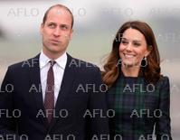 ウィリアム英王子夫妻 スコットランド・ダンディー訪問