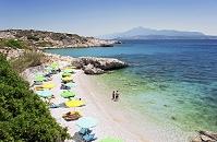 ギリシャ サモス島 ビーチ