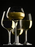 白ワインの入ったグラス