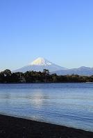 静岡県 富士山と大瀬崎と駿河湾