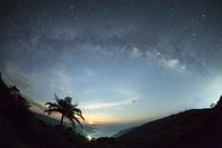 鹿児島県 油井岳展望台 天の川