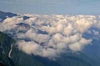 岐阜県 大喰岳から山陵と雲海