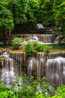 タイ カンチャナブリ フアイメーカミンの滝