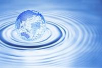 地球と波紋