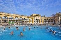 ハンガリー ブダペスト セーチェニ温泉