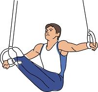体操競技 つり輪