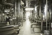 工場 イタリア 醸造所の機械