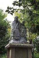 兵庫県 沼島のイザナギとイザナミ像