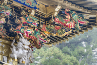 栃木県 日光東照宮 陽明門の彫刻(平成の大修理完成後)