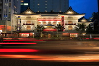 東京都 歌舞伎座の夜景