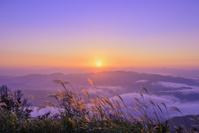 兵庫県 城崎 丸山川の雲海