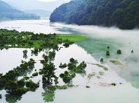 秋田県 仙北市 秋扇湖