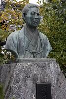 近藤勇胸像 京都市 京都