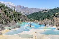 中国 黄龍風景区