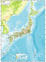日本全図 自然図