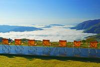 長野県 岩岳ヤッホーデッキと雲海