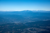 岐阜県 岩村町周辺より恵那町と御岳山方面