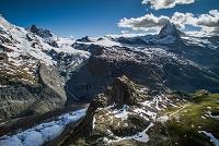 スイス ツェルマット マッターホルンとゴルナーグラート