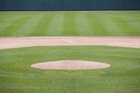 野球場のグラウンド