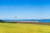 滋賀県JR志賀駅付近