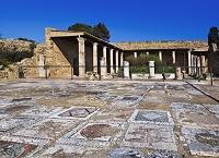 チュニジア カルタゴ遺跡 ローマ人の住居跡