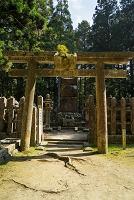 和歌山県 総本山金剛峯寺 奥の院 伊達政宗墓所